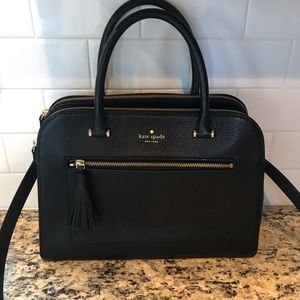 Kate Spade Large Leather Satchel
